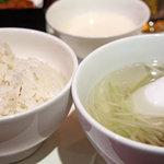 伊達の牛たん本舗 - 麦ご飯・テールスープ