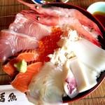 今新 - 海鮮丼 1,620円