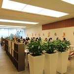 六花亭 - 2階のカフェ