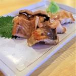 酒が呑める魚屋 大輝鮮魚店 - 伴助干物の特大穴子切身