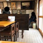 さか本そば店 - 内観(座敷席)
