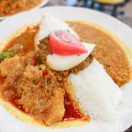 トプカ - 料理写真:ポーク&キーマ