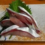 66503343 - 鯖の刺身(1人前)(750円)