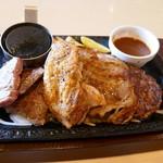 ステーキガスト - 料理写真:MEGA4 1835円