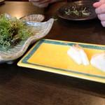 魚呑 - 鯖九条ねぎ?他美味し