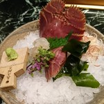 魚貝三昧 げん屋 - うちわエビ刺身