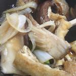 田舎打ち 麺蔵 - きのこ汁②
