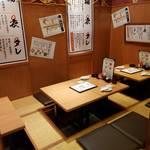 長岡天神 串カツ処 - お座敷タイプ半個室 最大20名様までOK