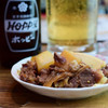 Shouchan - 料理写真:牛煮込み@税込500円 + ホッピー白@税込500円