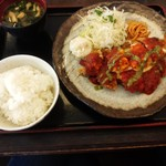 東京厨房 - イタリア男の満腹チキンカツ980円