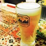 セイロンカリー - 生ビールでぷはぁ♡
