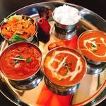 インドネパール料理エベレスト - 料理写真:エベレストランチ