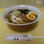 黒亭 - 大阿蘇鶏×ひごさかえ肥皇豚のWチャーシュー麺