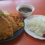 黒恵屋食堂 - 料理写真:アジフライ定食