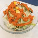 スパイスキッチン - 料理写真:ランパス利用 バラトセットのサラダ