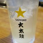 酒蔵 大太鼓 - レモン酎ハイ?:430円