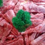 トキワフーズ - 料理写真:常陸牛 A5 カルビ