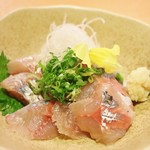 おばんざい京 筍矢  - 地鰺刺身 850円