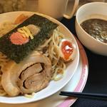 麺つし馬 - 極海老魚介つけ麺 800円