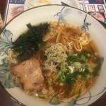 くれ星製麺屋 - くれ星麺640円
