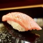 鮨處ワサビ - [2017/04]寿司④ 中とろの握り