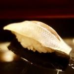 鮨處ワサビ - [2017/04]寿司⑤ 熊本産こはだの握り