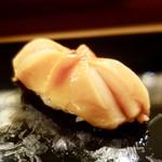 鮨處ワサビ - [2017/04]寿司⑦ 和歌山産赤貝の握り