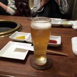 焼肉 433 - キリン一番搾り生プレミアム720円