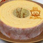 菓樹工房 ユーカリプティース - くまの焼印入りバームクーヘン