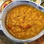 神谷カフェ - レンズ豆のカレー