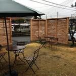 神谷カフェ - 雨じゃ無ければねぇ