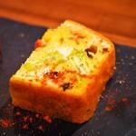スペインバル sidra - テリーヌ4種盛り(ケークサレ)