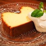 スペインバル sidra - チーズケーキ