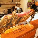 スペインバル sidra - ハモン セラーノ