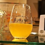 スペインバル sidra - 生シードラ