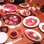 焼肉の松阪 - いろいろ
