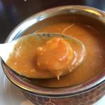 ガネーシャ - ココエビ。辛いのにほんのり甘い。