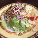 ガネーシャ - セットのサラダ。しっかりしたものでした。