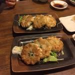 中華料理 西遊記 - 170425エビニラ焼きまんじゅう380円×2