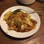 中華料理 西遊記 - 170425回鍋肉680円