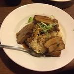 中華料理 西遊記 - 170425豚角煮チャーハン780円