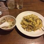 中華料理 西遊記 - 170425高菜と豚肉チャーハン680円