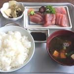 板橋食堂 - 刺身定食 @950