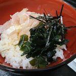 ほづみ亭 - 宇和島鯛めし丼(並)