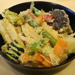 茂竹 - 盛り合わせ天丼