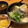 あわ路飯店真心  - 料理写真:★★★☆ 生しらす丼 ¥980