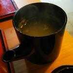 吉祥庵 - 蕎麦湯