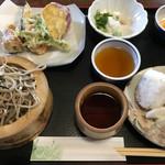 つくしんぼ - 料理写真:ざるそば定食  1,000円(税込)