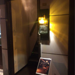 Bar 羽月2階 - 店の入り口(1F 入口付近)
