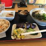 丹後屋 - 料理写真:日替わり定食(冷たいうどん)